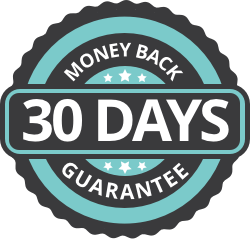three month money back guarantee